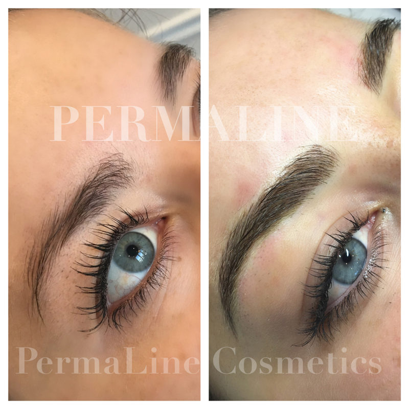 Permanent Makeup Eyebrows Microblading Permanent Makeup